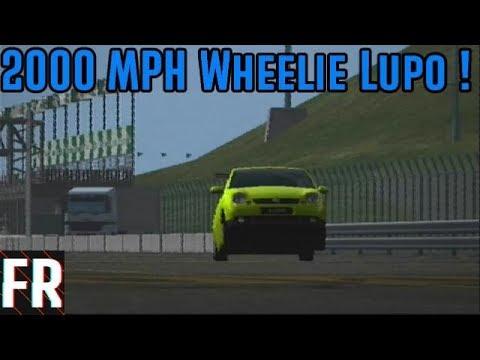 Gran Turismo 4 - 2000 MPH Wheelie Lupo ! thumbnail