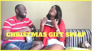 Exchanging CHRISTMAS GIFTS (with My Boyfriend) 2017| Christmas in Nigeria