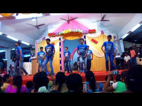 Nanga vera mathi bro CSI HOLY TRINITY CHURCH (kirubai boys) madathur,tenkasidancing at coutrallam