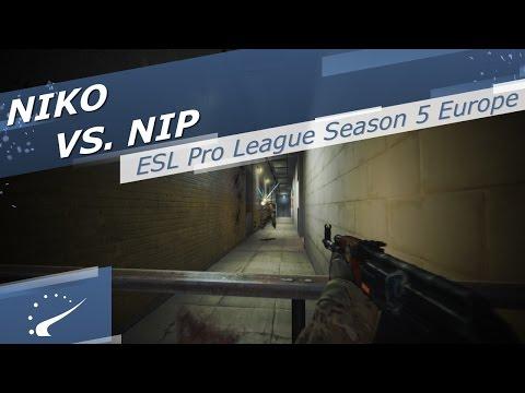 NiKo vs. NiP - ESL Pro League Season 5 Europe
