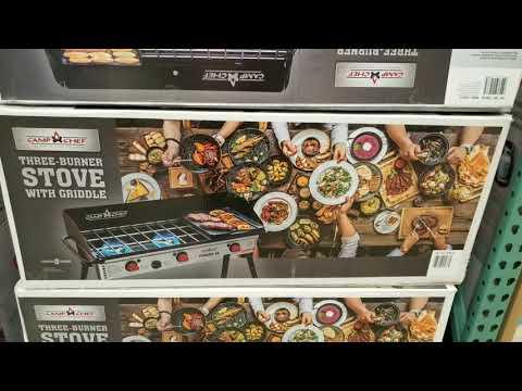 Costco! Camp Chef Three Burner Stove w/ Griddle! $179