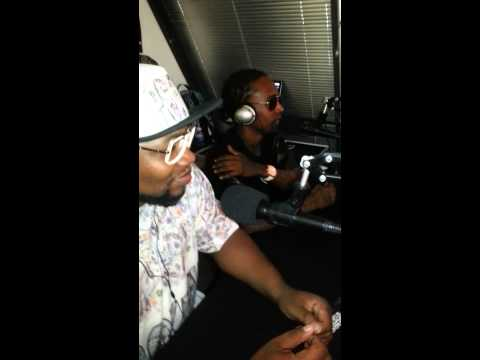 T2 on GMT Radio.. H TOWN STAND UP..