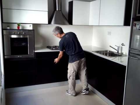 Cocina En Rosario 2 Push Negro Youtube
