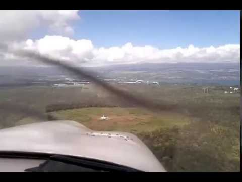 Approach and Landing Hilo International Airport, Hawaii (ITO)