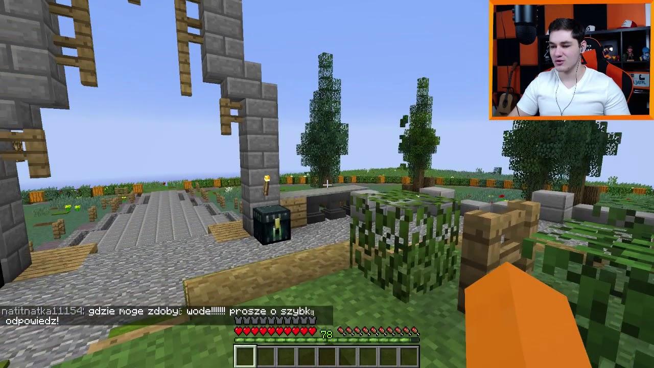 """Minecraft [ljaymc.pl] – """"Gildie, krótkie info, o 13:30 normalnie odcinek!"""""""