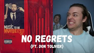 Eminem - No Regrets (ft. Don Toliver) // REACTION!!!