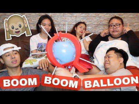 BOOM BOOM BALLOON CHALLENGE (WENT WRONG!!) | Rei Germar