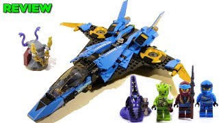 LEGO Ninjago Legacy 70668 Jay's Storm Fighter Review