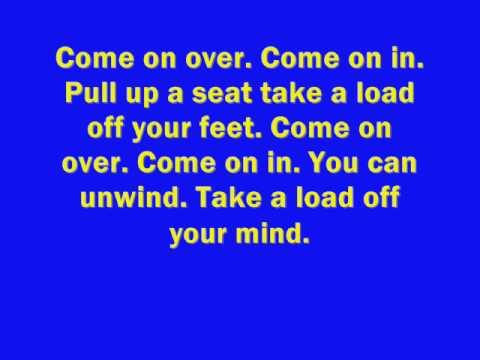 Kenny Chesney - Come Over (Lyrics) - YouTube