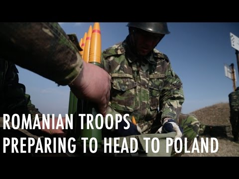 Romania sends troops to Poland as part of NATO's presence on its eastern flank