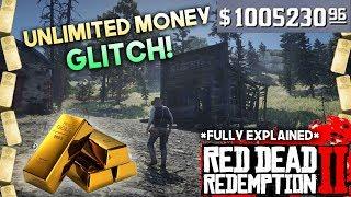 Red Dead Redemption 2 UNLIMITED MONEY GLITCH THAT STILL WORKS | $1000 EACH MIN (STORYMODE)