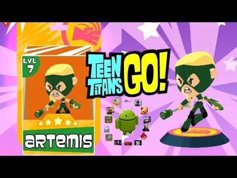 Teeny Titans Big Update - New Figure: Artemis