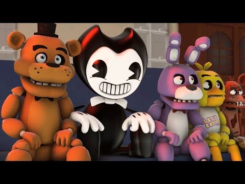 SFM Bendy and the Ink Machine: Five Nights at Freddy's & Bendy SCHOOL Animation
