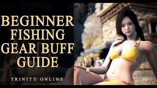 BDO FISHING CLOTHES ROD BUFF PET TIPS & GEAR GUIDE TUTORIAL FOR NEW PLAYER AND BEGINNER