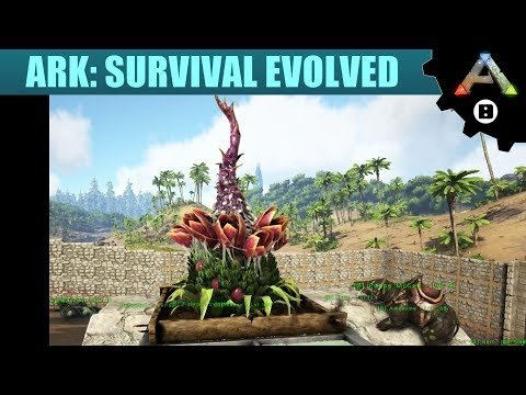 ARK Survival Evolved #10 - Plant Species X Base Defense Turrets