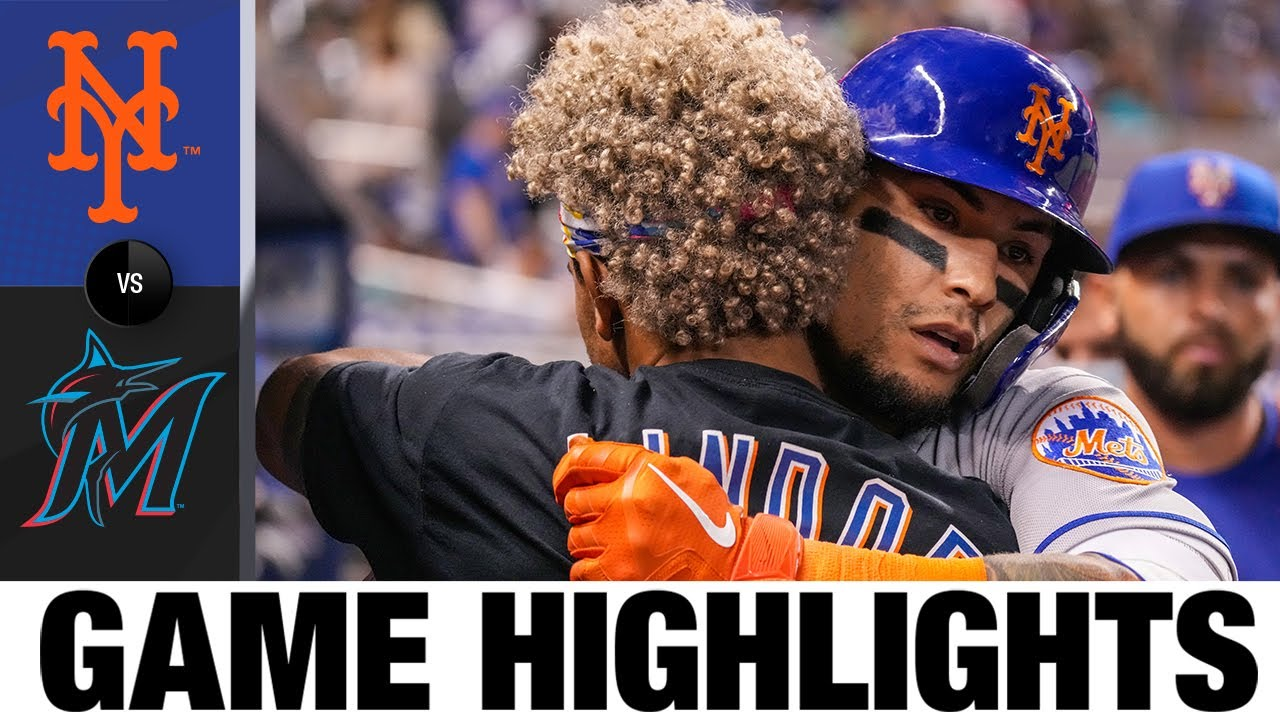 Download Mets vs. Marlins Game Highlights (8/4/21)   MLB Highlights
