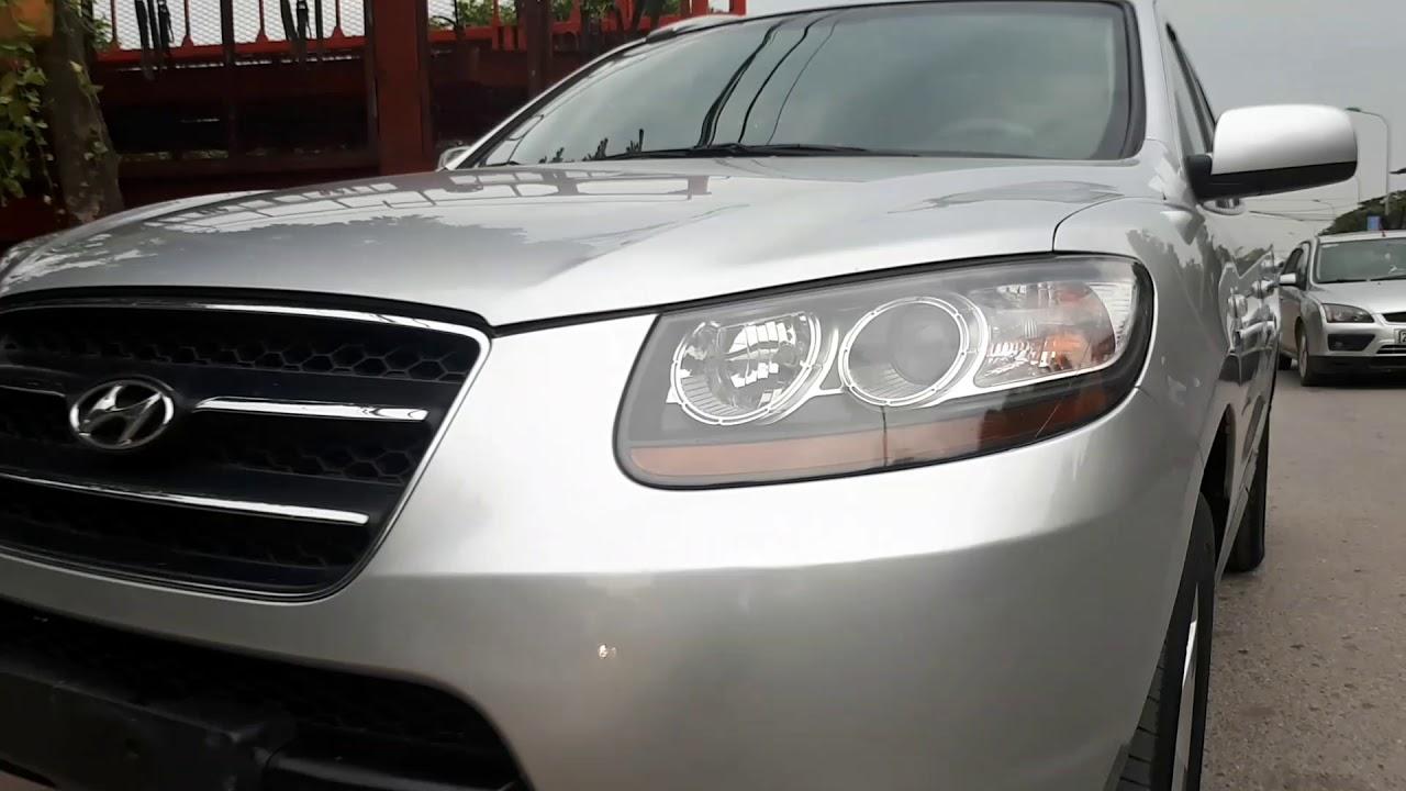 Vận chuyển xe cho khách hàng mua santafe