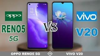 OPPO RENO5 5G vs VIVO V20    Full Specs Comparison