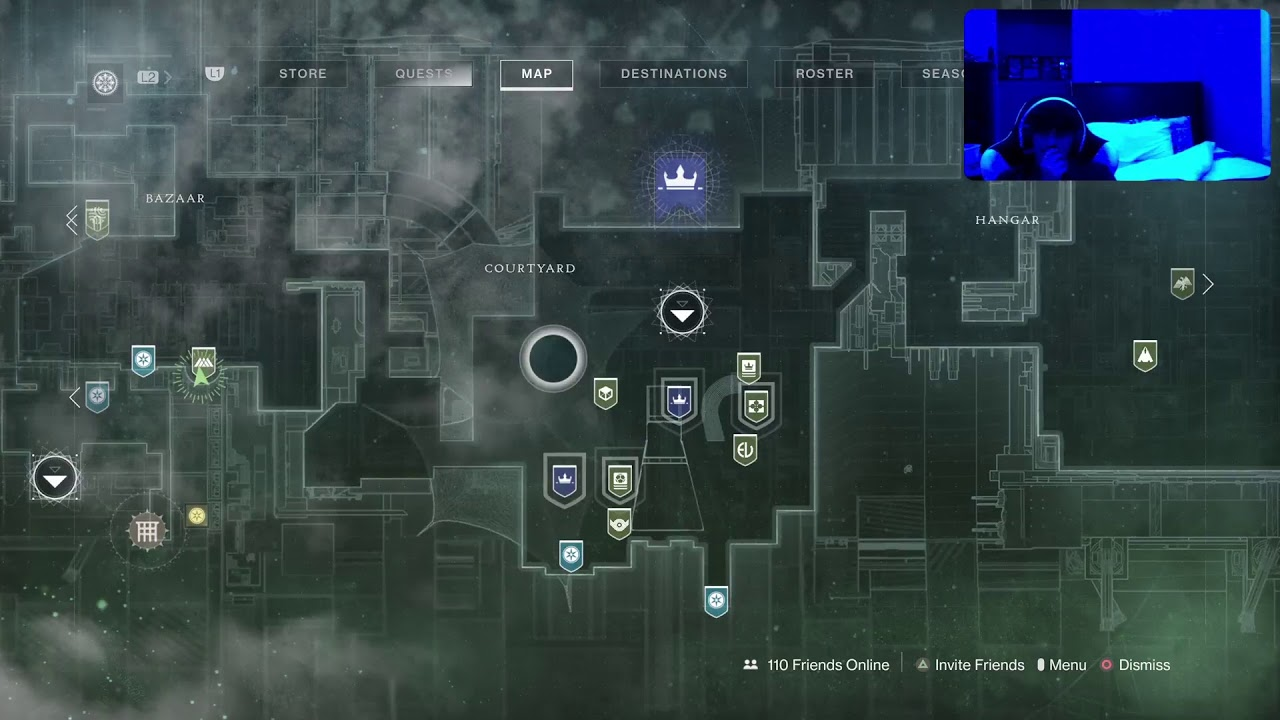 Destiny 2 havent played in a MIN *Facecam*