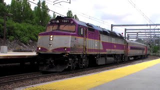 A Hot June Afternoon At Providence Train Station w/P&W Zoo Train June 14th 2014