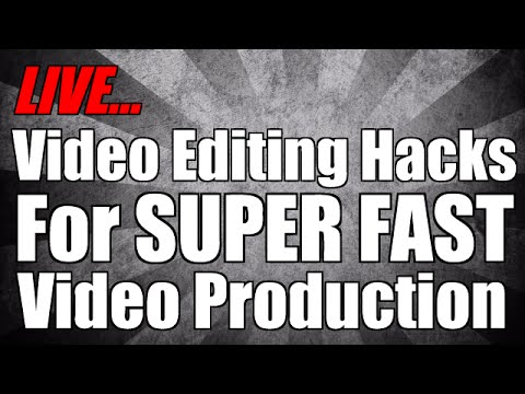 Video Editing Hacks From A Power User
