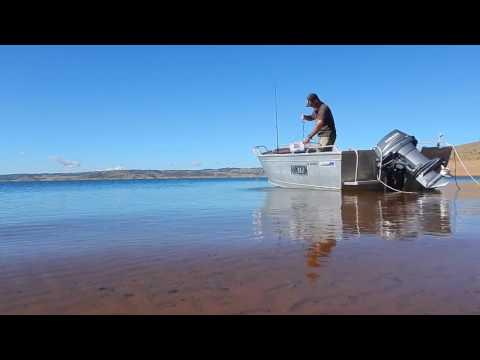 Trout And Yabbie Fishing,  Lake Eucumbene, N.S.W. Australia