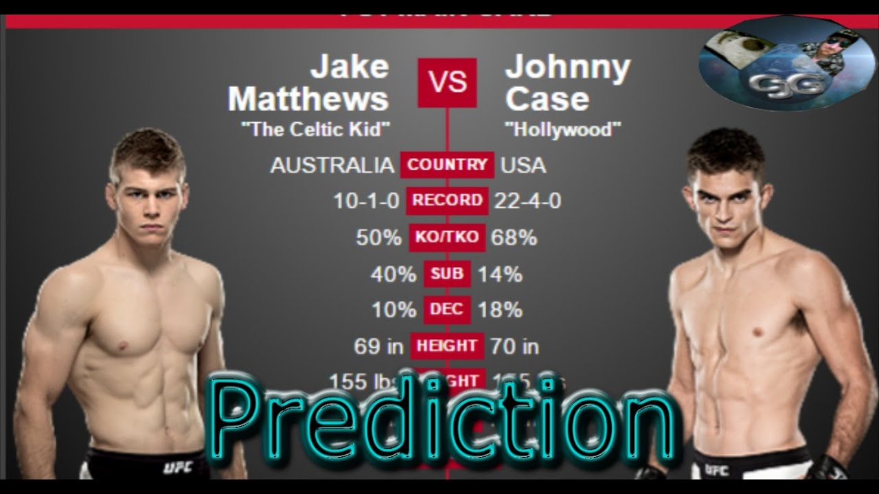 UFC Brisbane Jake Matthews vs Johnny Case UFC FIGHT NIGHT 85