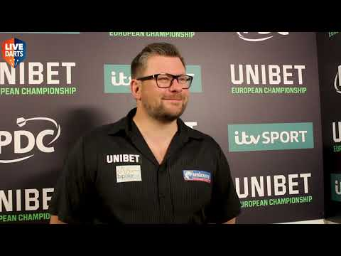 "James Wade European Champion: ""Today will help me push on and sort a few errors I've had"""