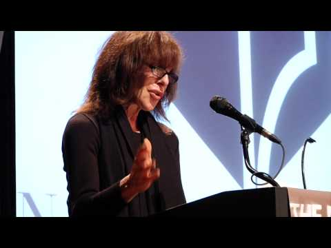 Jeannie Berlin reads from Thomas Pynchon's Bleeding Edge, 2013 NBA Finalists Reading