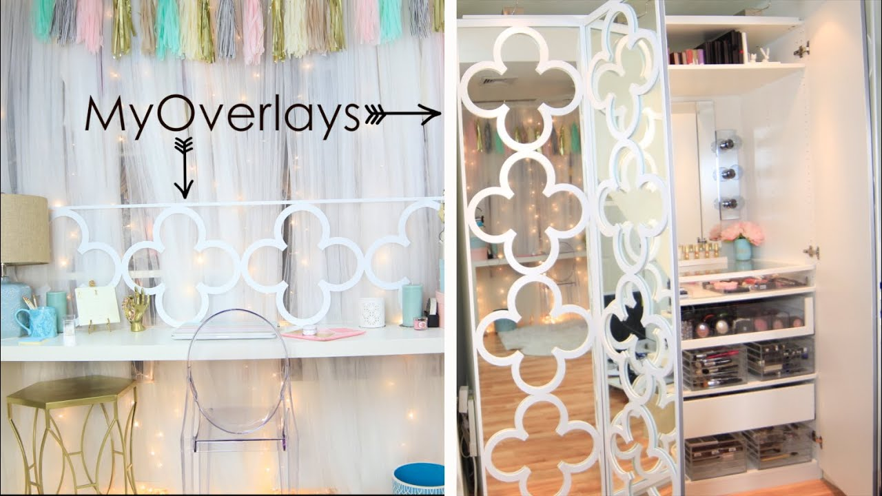 Diy Update Furniture Myoverlays Decor Youtube