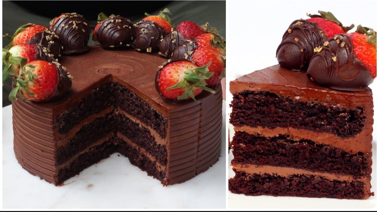 Best Vegan Chocolate Cake Youtube