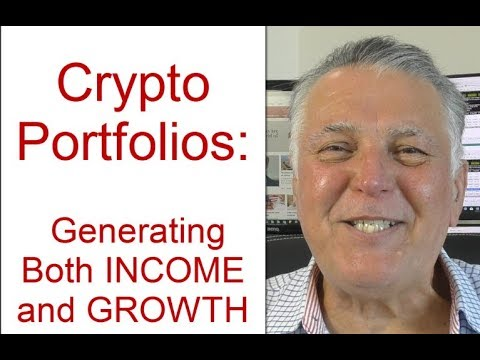 A Crypto Currency Portfolio that automates income for life and promotes long term investment growth