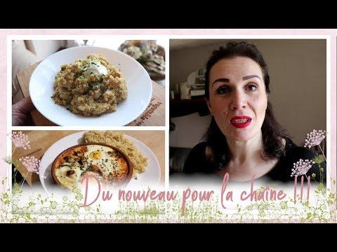 vlog-famille-du-15-avril-:-one-pot-quinoa-poulet-champignon,-œufs-cocottes-ratatouille-chorizo