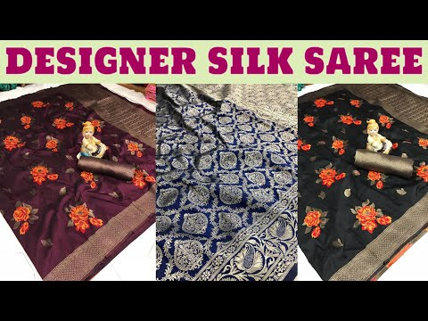 Buy Now Designer Silk Saree @wholesale Price Ll Online Shopping Ll COD & Single Piece Available