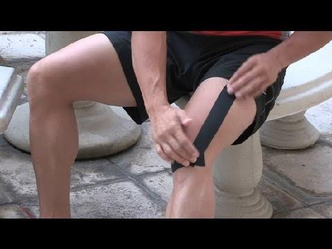 how to put on knee wraps bodybuilding