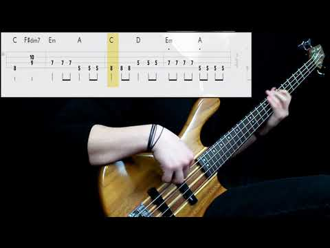 Red Hot Chili Peppers - Road Trippin' (Bass Cover) (Play Along Tabs In Video)
