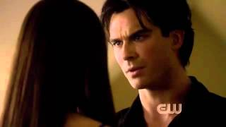 The Vampire Diaries 4x01,Damon and Elena, Little Dragon   Twice HD