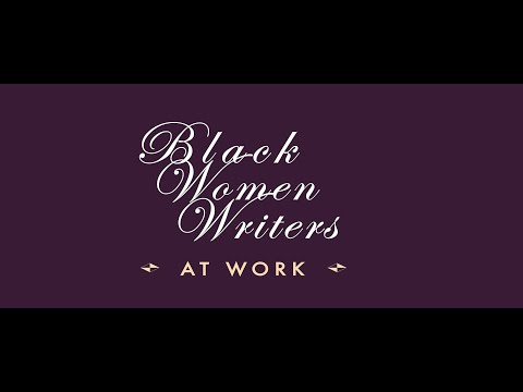 Black Women Writers At Work | From Slavery To Freedom Lab At FHI