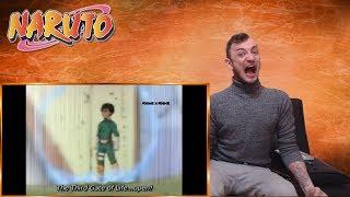 1st TIME NARUTO WATCHER: GAARA vs ROCK LEE!