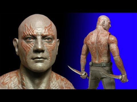 Hot Toys Drax 1/6 Scale Action Figure Review