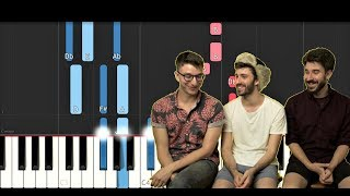 Chords For Ajr Normal Piano Tutorial The song is about the possible future son of ryan , named winter. chords for ajr normal piano tutorial