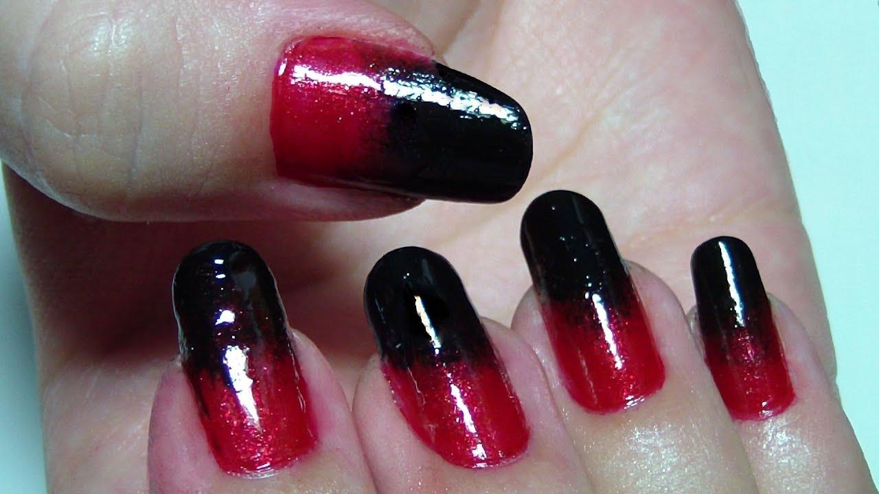 Degradado Rojo Negro Red To Black Gradient Eng Subtitles