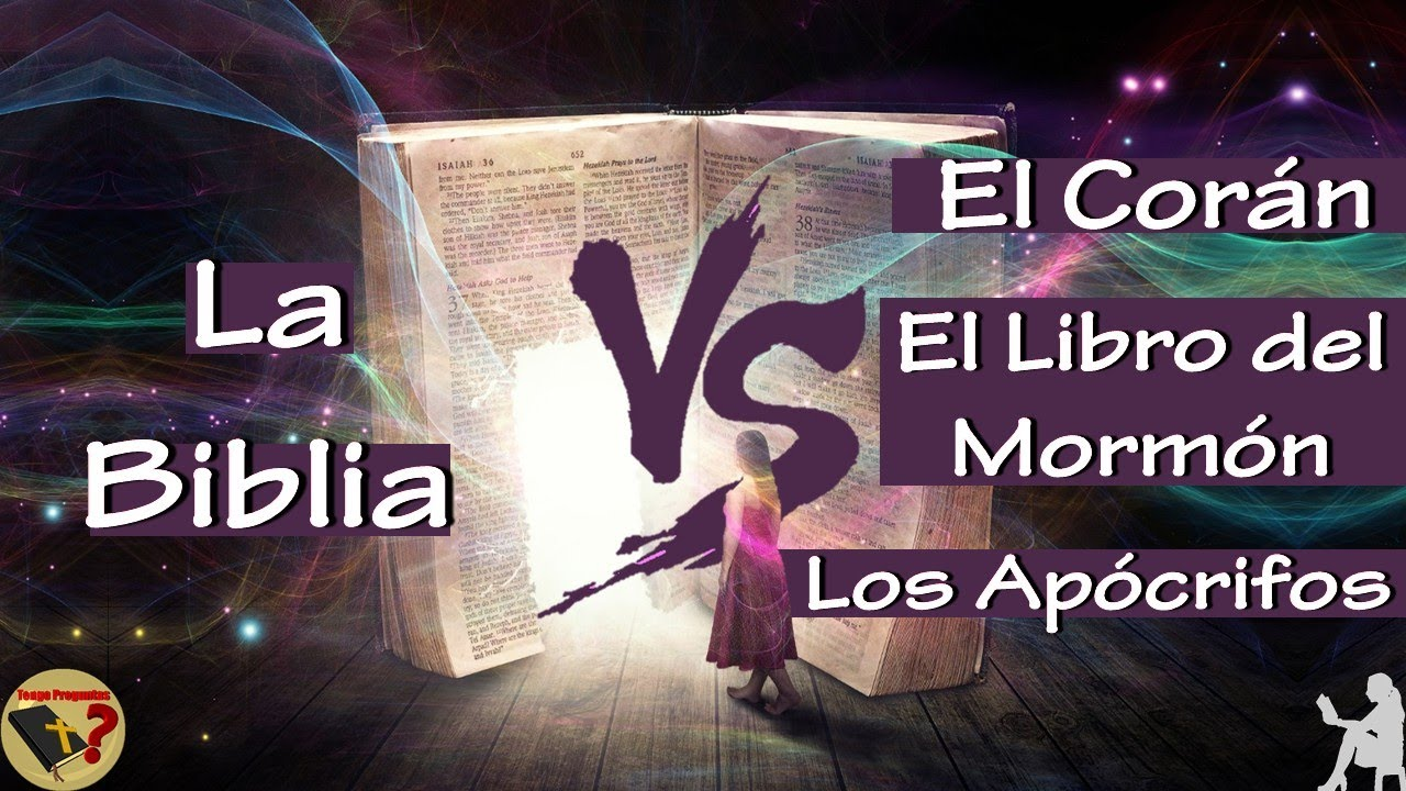 Resultado de imagen de ¿Cómo sabemos que la Biblia es la Palabra de Dios, y no los libros apócrifos de la Biblia, el Corán, el Libro del Mormón, etc.?