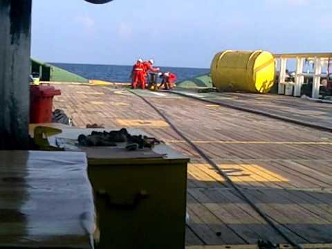 Anchor job AHTS TRITON JAWARA