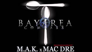 M.A.K. ft. Mac Dre, Keak Da Sneak, J. Diggs - Spoon Fed [BayAreaCompass] (Prod by N8 the Gr8)