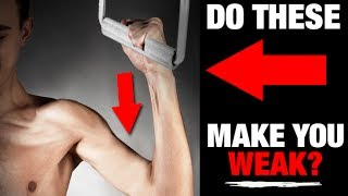 Are Cable Pulley Machines Making You Weak (UH-OH!!)