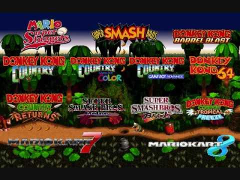 Donkey Kong Country - Jungle Hijinx Mashup