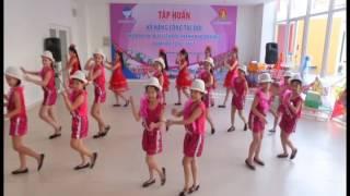 Múa hát Thiếu nhi _ VŨ ĐIỆU CHA CHA CHA TẬP THỂ