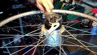 Deactivating the coaster brake on a Sram iMotion 9 gearhub