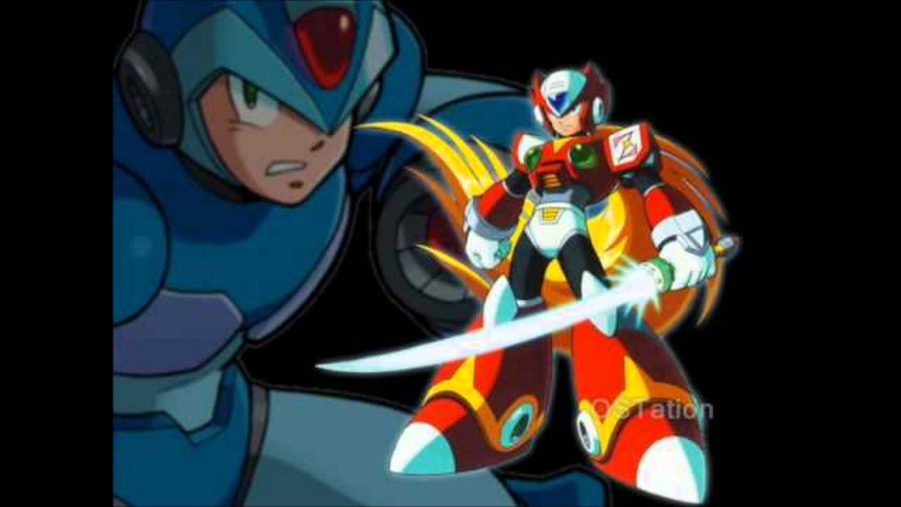 Mega Man X5 OST, X vs Zero - YouTube